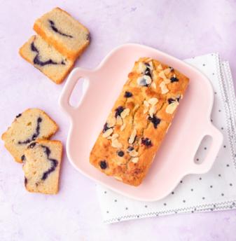 Blueberry & Almond teacake