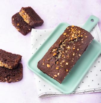 Chocolate & Nutella teacake