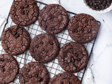Decadent Chocolate Cookie (eggless)