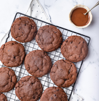 Nutella Cookie (with egg)